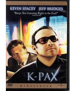 K-Pax (DVD, 2002, Collector's Edition) - $5.87