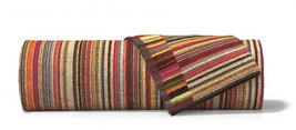 Missoni Home - Jazz Color 156 Striped Bath Towel Multi Color Cotton Terry - $65.50