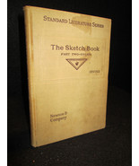 The Sketch Book part two essays by Washington Irving 1905 hardcover - $5.87
