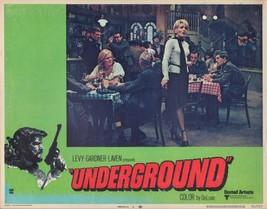 Underground 1970 11x14 Lobby Card #5 - $7.83