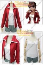 Danganronpa Dangan-Ronpa Aoi Asahina Cosplay Costume red - $77.99