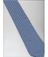 Turnbull & Asser Tie - Light Blue, White - Polka Dots Pattern Silk Tie - $26.25