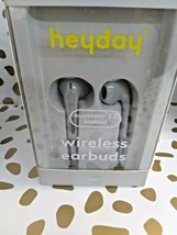 Heyday Bluetooth 5.0 Enabled Wireless Earbuds - dove grey- Sealed New --(Store) image 2