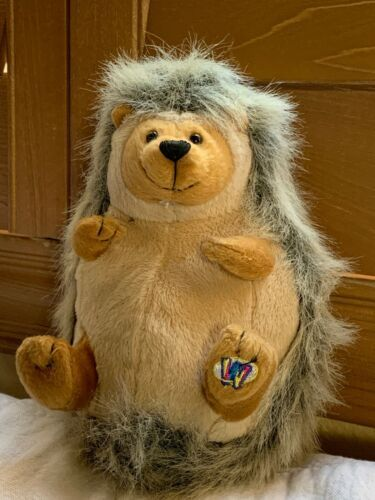 "Webkiz Hedgehog Ganz HM130 No Code 7"" plush stuffed animal Used Free Shipping"
