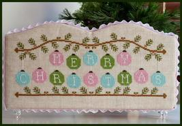 Merry Christmas ornaments christmas cross stitch chart Country Cottage Needlewor - $7.20