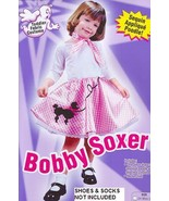 Bobby Soxer Poodle Skirt 50's 3T/4T Childs Costume - $29.00