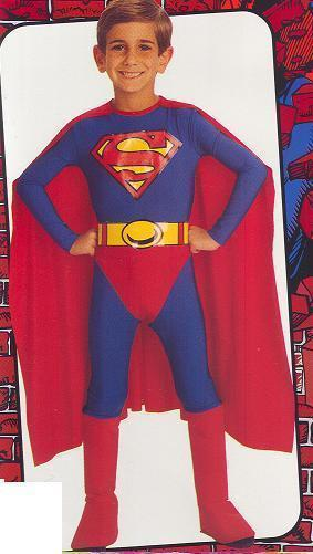 SUPERMAN costume Large 12/14 child's size