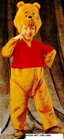 Winnie the Pooh Deluxe 2/4 Childs Costume