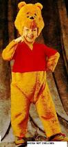 Winnie the Pooh Deluxe 2/4 Childs Costume - $40.00