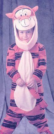 TIGGER from Winnie the Pooh 2/4 Childs Costume