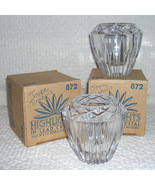 Candle Holders By Princess House made in USA - $9.99