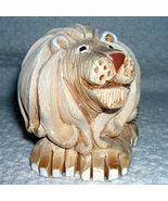 Lion Figurine Vintage Artesania Rinconada Lion - $8.00