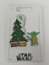 Star Wars Yoda Christmas Tree 2020 Disney Pin Trading - $19.79