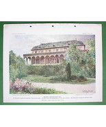 PRAGUE Praha Belvedere Summer House of Queen An... - $14.84