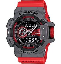 Casio - G-Shock - GA-400 Series - Grey/Red - GA400-4B - $198.85