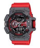 Casio - G-Shock - GA-400 Series - Grey/Red - GA400-4B - $198.85