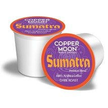 Copper Moon Sumatra Coffee K-Cups - Choose your Quantity - $13.99+
