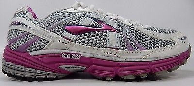 Brooks GTS 12 Women's Running Shoes Size US 8 M (B) EU 39 White 1201001B950
