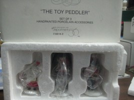 Heritage Village The Toy Peddler from Department 56 - $10.00
