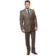 Michael Kors Men Suit Dark Taupe Size 42 Waist 35 - €67,17 EUR