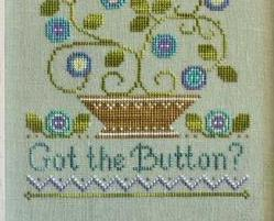 Button Button cross stitch chart Country Cottage Needleworks