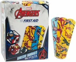 """Assorted Character Bandages Pack Of 100 Adhesive Bandages 3/4"""" x 3"""" For ... - $15.52"""