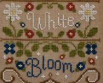Red White and Bloom americana cross stitch chart Country Cottage Needleworks