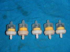 FUEL GAS FILTER PETROL FILTER MAGNET 1/4 #5 Yamaha 50 70 80 100 250 350 ... - $18.65