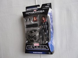 BLACK WIDOW Marvel Legends Infinite series CAPTAIN AMERICA Build A Figur... - $46.74