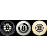 BOSTON BRUINS NHL TEAM POOL BILLIARD TABLE BALLS WITH REF BALL INCLUDED ... - $39.99