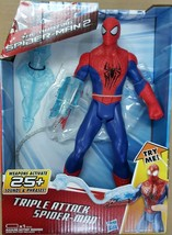 Spiderman 2 Triple Attack Spiderman Weapons Activate 25+ Sounds and Phrases - $26.17