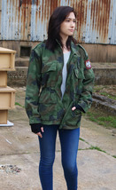 Authentic Serbian Yugoslavian army field jacket coat military camouflage... - $20.00+