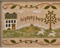Bunny Hop cross stitch chart Country Cottage Needleworks