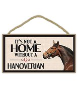 Crazy Sticker Guy Wooden Decorative Horse Sign - It's Not A Home Without... - $12.99