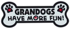 Dog Bone Shaped Magnets: Grandogs Have More Fun! | Cars, Trucks, Mailboxes - €6,18 EUR