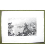 CANADA Hallowell Bay of Quinte - 1841 Engraving... - $16.34