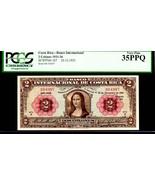 "COSTA RICA P167 FAMED ""MONA LISA"" 1932 2 COLONES GRADED PCGS 35PPQ! Da V... - $4,950.00"