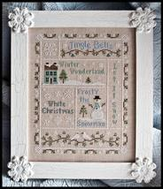 Snowflake Serenade holiday cross stitch chart Country Cottage Needleworks - $7.20