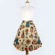 Vintage Inspired Frida Circle Skirt - $53.37 CAD
