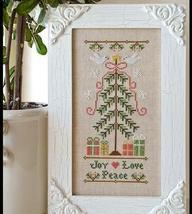 Joy Peace Love holiday cross stitch chart Country Cottage Needleworks - $7.20