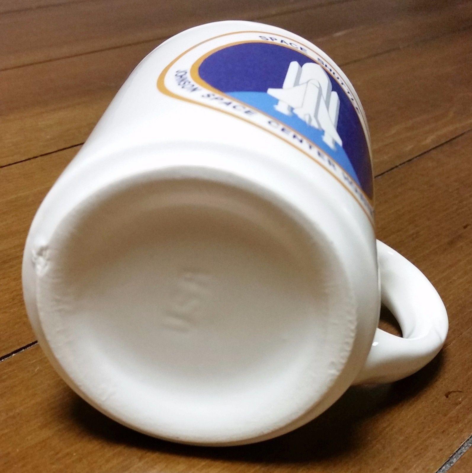 NASA Coffee Mug Cup Space Shuttle Johnson Space Center ...