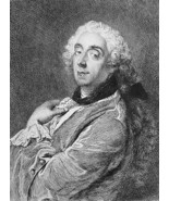 ORIGINAL ETCHING PRINT: Portrait of Francois Bo... - $64.35