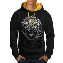 Cougar Puma Killer Sweatshirt Hoody Cat Hunting Men Contrast Hoodie - $23.99+