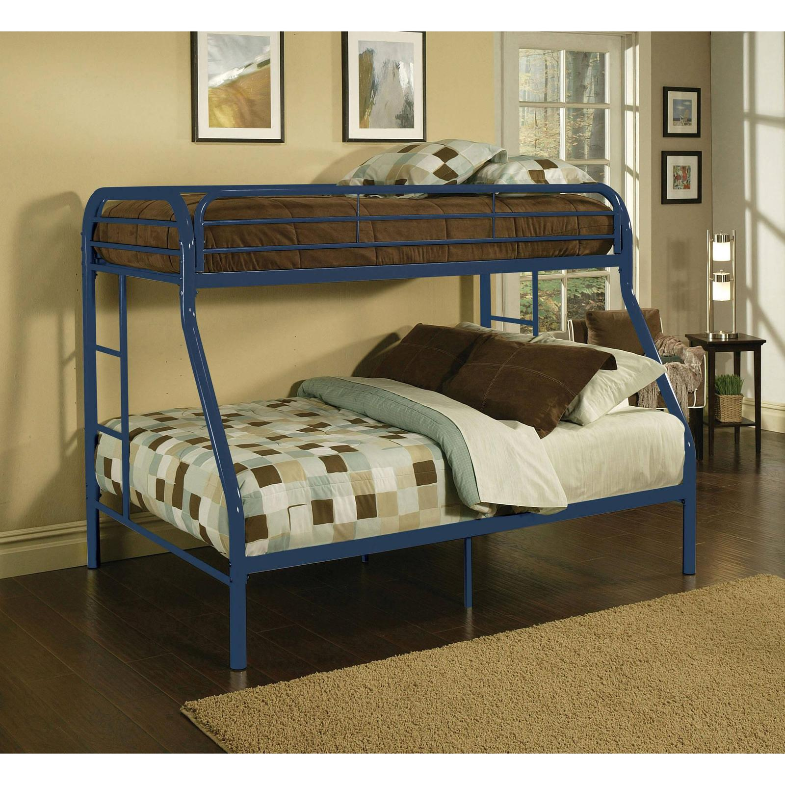 Blue Metal Bunk Bed Twin Over Full