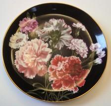 The Danbury Mint Carnation Decorative Plate  - $9.99