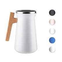 SDREAM 34 Oz Coffee Carafe Thermal For Kettle Stainless Steel Double (Wh... - $41.22