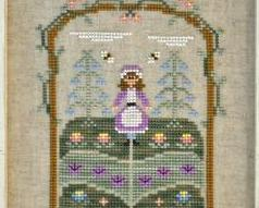 Mary Mary Quite Contrary cross stitch chart Country Cottage Needleworks