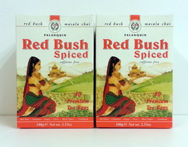 Redbush rooibos Spiced masala Tea bag caffeine free (2 box x 40) Palanquin - $9.74