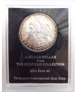 1897 Morgan Silver Dollar Redfield Hoard Collection Pedigree Coin Rim Toned - €263,62 EUR