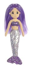 Aurora World Sea Sparkles Mermaid Plush, Amethyst, Small